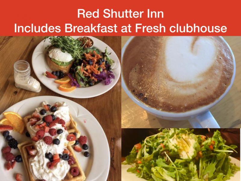 Includes Breakfast - Fresh clubhouse